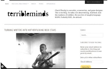 http://terribleminds.com/ramble/2011/07/27/turning-writers-into-motherfucking-rock-stars/