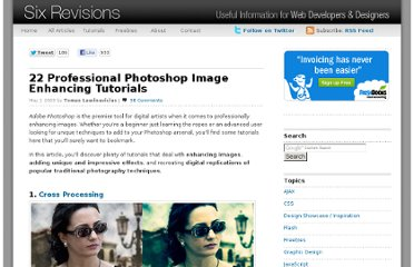 http://sixrevisions.com/photoshop/22-professional-photoshop-image-enhancing-tutorials/