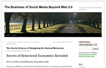 http://webtechman.com/blog/2011/06/26/the-social-science-of-designing-for-desired-behaviors/