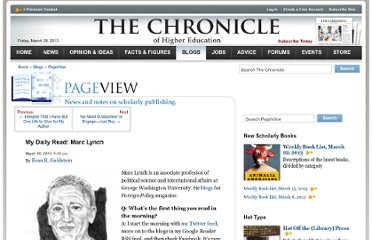 http://chronicle.com/blogs/pageview/my-daily-read-marc-lynch/28395