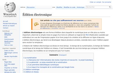 http://fr.wikipedia.org/wiki/%C3%89dition_%C3%A9lectronique