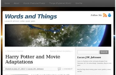 http://lucasjwjohnson.com/2011/07/27/harry-potter-and-movie-adaptations/