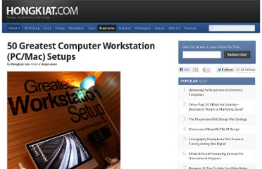 http://www.hongkiat.com/blog/50-greatest-computer-workstation-pcmac-setups/#more-3175