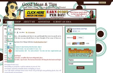 http://goodideasandtips.com/2011/05/really-random-tips/