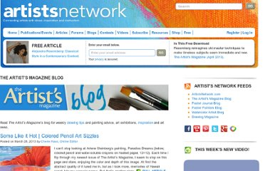 http://www.artistsnetwork.com/category/art-blogs/the-artists-magazine-blog