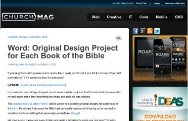 http://churchm.ag/word-original-design-project-for-each-book-of-the-bible/