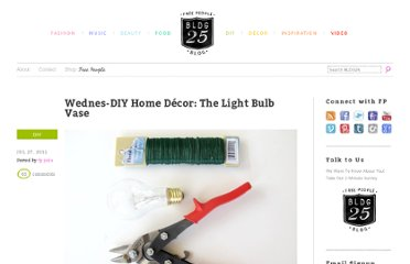 http://blog.freepeople.com/2011/07/wednes-diy-home-decor-the-light-bulb-vase/