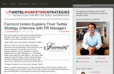 http://www.hotelmarketingstrategies.com/fairmont-hotels-twitter/