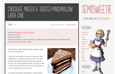 http://semisweetie.com/cake-recipe/chocolate-malted-toasted-marshmallow-layer-cake/