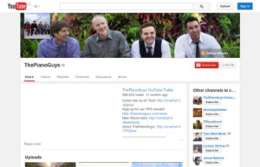 http://www.youtube.com/user/ThePianoGuys
