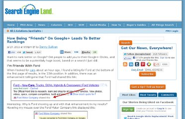 http://searchengineland.com/how-being-friends-on-google-leads-to-better-rankings-87376