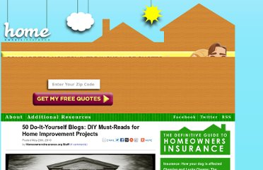 http://www.homeownersinsurance.org/50-do-it-yourself-blogs-diy-must-reads-for-home-improvement-projects/