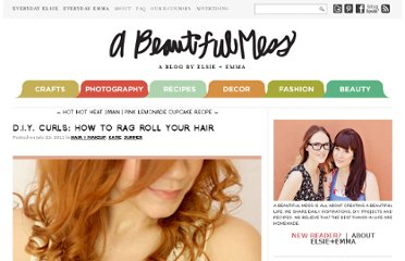 http://abeautifulmess.typepad.com/my_weblog/2011/07/diy-curls-how-to-rag-roll-your-hair-.html