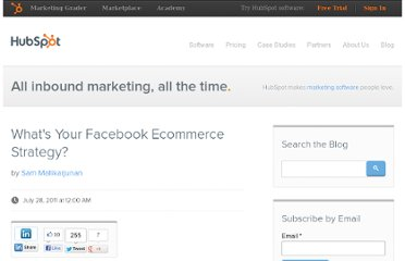 http://blog.hubspot.com/blog/tabid/6307/bid/20859/What-s-Your-Facebook-Ecommerce-Strategy.aspx