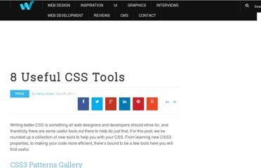 http://webdesignledger.com/tools/8-useful-css-tools