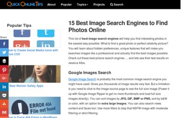 http://www.quickonlinetips.com/archives/2008/01/find-best-photo-image-search-engines-online/