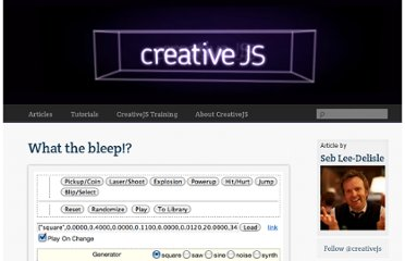 http://creativejs.com/2011/07/what-the-bleep-2/