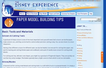 http://www.disneyexperience.com/models/model_tips.php