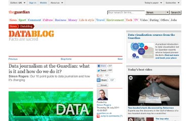 http://www.guardian.co.uk/news/datablog/2011/jul/28/data-journalism