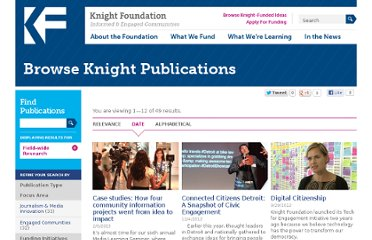 http://www.knightfoundation.org/publications/browse/?q=%22%22&selected_facets=pubtype_exact:%22Field-wide%20Research%22