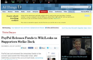 http://allthingsd.com/20101208/paypal-releases-funds-to-wikileaks-as-supporters-strike-back/