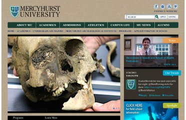 http://mai.mercyhurst.edu/academics/applied-forensic-sciences/
