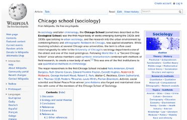 http://en.wikipedia.org/wiki/Chicago_school_(sociology)
