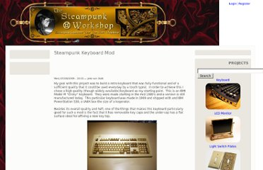 http://steampunkworkshop.com/keyboard.shtml