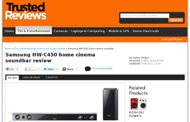http://www.trustedreviews.com/Samsung-HW-C450-home-cinema-soundbar_Surround-Sound-System_review