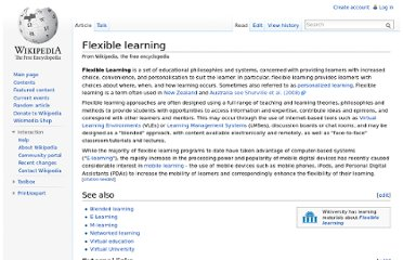 http://en.wikipedia.org/wiki/Flexible_learning