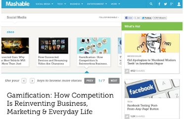 http://mashable.com/2011/07/28/gamification/