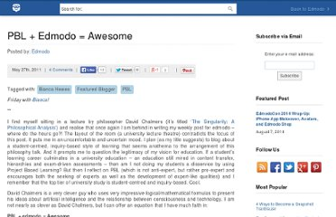 http://blog.edmodo.com/2011/05/27/pbl-edmodo-awesome/
