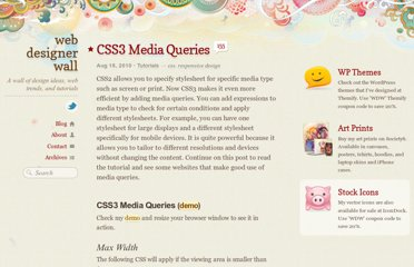 http://webdesignerwall.com/tutorials/css3-media-queries