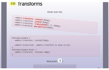 http://slides.html5rocks.com/#css-transforms