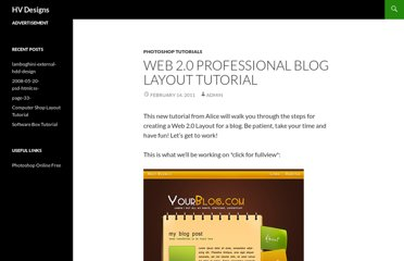 http://www.hv-designs.co.uk/2011/02/14/web-2-0-professional-blog-layout-tutorial/