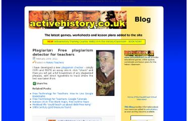 http://activehistory.co.uk/updates/history-teachers/plagiarizr-free-plagiarism-detector-teachers/