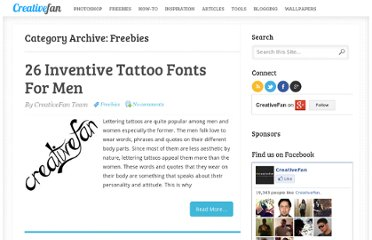 http://creativefan.com/category/freebies/
