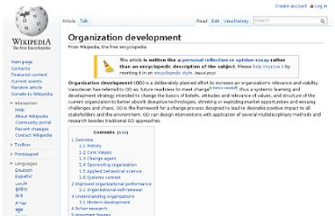 http://en.wikipedia.org/wiki/Organization_development