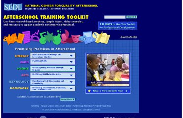 http://www.sedl.org/afterschool/toolkits/index.html