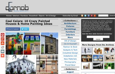 http://dornob.com/cool-colors-10-crazy-painted-houses-home-painting-jobs/