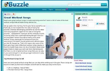 http://www.buzzle.com/articles/great-workout-songs.html