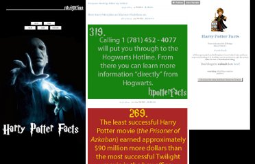http://hpotterfacts.tumblr.com/