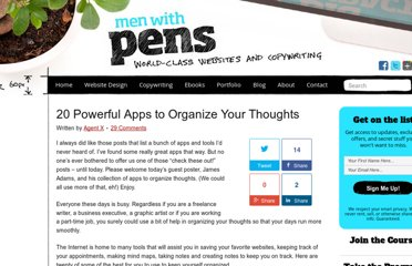http://menwithpens.ca/20-apps-to-organize-thoughts/