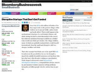 http://www.businessweek.com/small-business/disruptive-startups-that-dont-get-funded-07282011.html