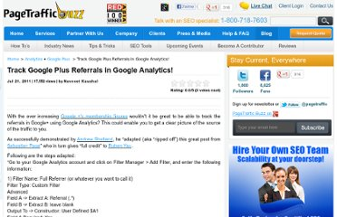 http://www.pagetrafficbuzz.com/track-google-referrals-google-analytics/9390/