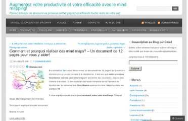 http://cartesdesidees.wordpress.com/2011/07/24/comment-et-pourquoi-realiser-des-mind-mappings-un-document-de-12-pages-pour-vous-y-aider/