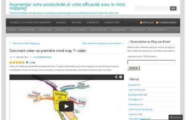 http://cartesdesidees.wordpress.com/2011/07/11/comment-creer-sa-premiere-mind-map-video/
