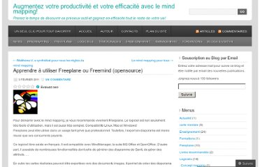 http://cartesdesidees.wordpress.com/2011/02/03/apprendre-a-utiliser-freeplane-ou-freemind/