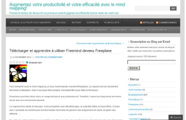 http://cartesdesidees.wordpress.com/2010/11/06/telecharger-et-apprendre-a-utiliser-freemind-devenu-freeplane/