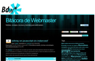 http://www.bitacoradewebmaster.com/2009/01/12/isarray-en-javascript-sin-instanceof/